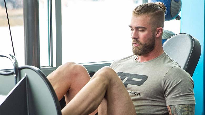برنامه بدنسازی ساده برای عضلات پا