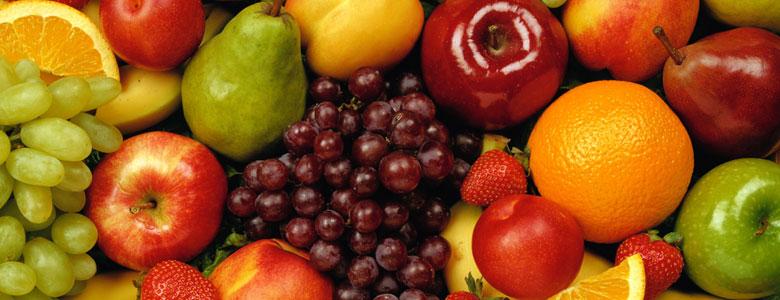 مصرف میوه و سبزیجات در تمام وعده های غذایی
